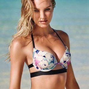 VS Swim Hottie Halter Push-Up Bikini Top 34C
